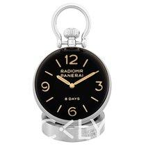 Panerai Table Clock Acero 65.00mm Negro