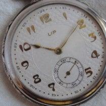 Lip Silber Handaufzug 48mm gebraucht