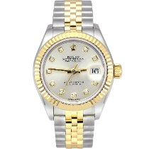 Rolex Lady-Datejust Gold/Steel 28mm Silver No numerals United Kingdom, Manchester
