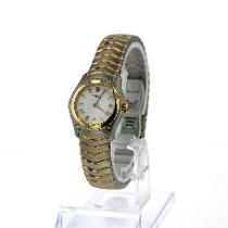 Ebel Classic Gold/Stahl 24mm Weiß Römisch Deutschland, Bonn
