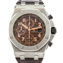 Audemars Piguet Royal Oak Offshore Chronograph Acier 42mm Brun