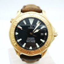 Omega Seamaster Rose gold Black