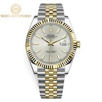 Rolex Datejust Gold/Steel 41mm White No numerals United States of America, New York, New York