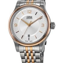 Oris Classic Gold/Steel 42mm Silver United States of America, New York, Brooklyn