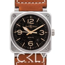 Bell & Ross BR 03-92 Steel BR0392-ST-G-HE/SCA/2 new
