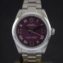 Rolex Oyster Perpetual 31 usados 31mm Violeta Acero