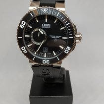 Oris Aquis Titan new 2010 Automatic Watch with original box and original papers 01 743 7664 7253-07 4 26 34TEB
