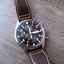 IWC Pilot Chronograph Steel 43mm Brown Arabic numerals United States of America, California, Sunnyvale