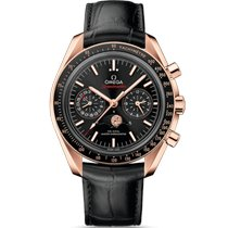 Omega 304.63.44.52.01.001 Or rose 2021 Speedmaster Professional Moonwatch Moonphase 44.25mm nouveau