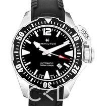Hamilton Khaki Navy Frogman H77605335 nouveau