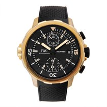 IWC Aquatimer Chronograph Titanium 43.00mm Black