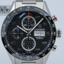 TAG Heuer Carrera Calibre 16 Steel 43mm Black Arabic numerals United States of America, Georgia, ATLANTA