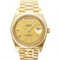 Rolex 228238 Or jaune Day-Date 40 40.00mm nouveau