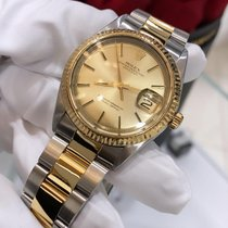 Rolex Datejust 16013 God Guld/Stål 36mm Automatisk