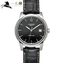 Longines Saint-Imier Steel 38.5mm Black