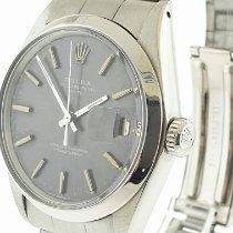 Rolex Oyster Perpetual Date Acier 34mm Gris Sans chiffres
