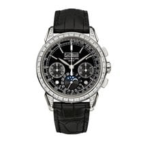 Patek Philippe Perpetual Calendar Chronograph Platinum 41mm Black United States of America, New York, NEW YORK