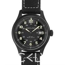 Hamilton Khaki Field Titanium new Automatic Watch with original box and original papers H70575733