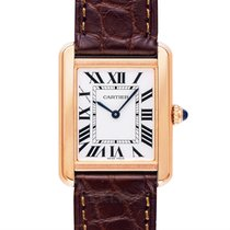 Cartier Tank Solo Rose gold 24.4mm Silver
