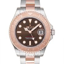 Rolex Yacht-Master 37 Rose gold 37mm Brown