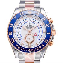 Rolex Rose gold Automatic White 44mm new Yacht-Master II