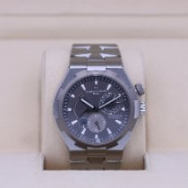 Vacheron Constantin Overseas Dual Time 47450/000W-9511 Very good Steel 42mm Automatic