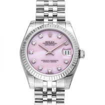 Rolex Lady-Datejust White gold 31mm Pink