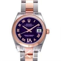 Rolex Lady-Datejust 178241 Nou Aur roz 31mm Atomat