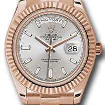 Rolex 228235 Rose gold 2019 Day-Date 40 40mm pre-owned United States of America, New York, New York
