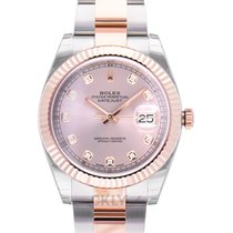 Rolex Datejust II 126331 G Nové Růžové zlato 41mm Automatika