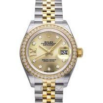 Rolex 279383RBR Or jaune Lady-Datejust 28mm nouveau