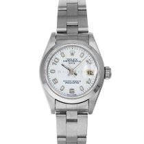 Rolex Oyster Perpetual Lady Date Steel 26mm White Arabic numerals United States of America, Maryland, Baltimore, MD