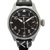 IWC Big Pilot Acero 46.20mm Negro