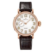Zenith Pilot Type 20 Lady Rose gold 40mm White Arabic numerals