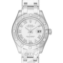 勞力士 Lady-Datejust Pearlmaster 白金 29mm 珠母質 香港, Tsim Sha Tsui