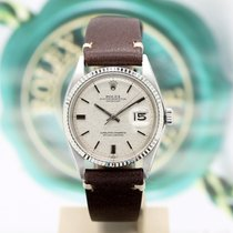 Rolex Datejust pre-owned 36mm Silver Steel