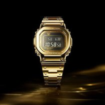 卡西欧 G-Shock 全新 金/钢 50.0mm 石英