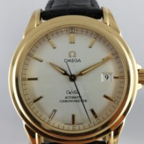 Omega De Ville Co-Axial Yellow gold Silver