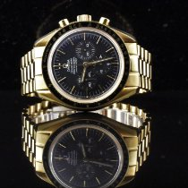 Omega Speedmaster Professional Moonwatch occasion 42mm Noir Chronographe Or jaune