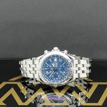 Breitling Windrider Steel 43mm Blue Roman numerals