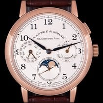 A. Lange & Söhne 1815 A. Lange & Sohne 1815 Annual Calendar 238.032 Very good Rose gold 40mm Manual winding