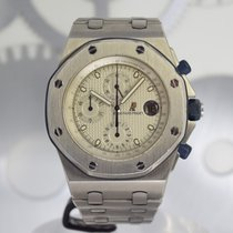 Audemars Piguet Royal Oak Offshore Chronograph Titane 42mm Blanc Sans chiffres France, Cannes