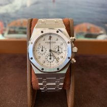 Audemars Piguet Or blanc Blanc occasion Royal Oak Chronograph