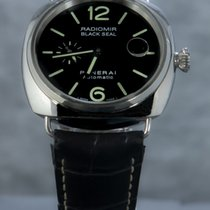 Panerai Radiomir Black Seal Zeljezo 45mm Crn Arapski brojevi