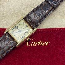 Cartier Tank Vermeil Srebro 23,6mm