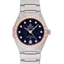 Omega Constellation Ladies 29mm Blue