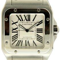 Cartier gebraucht Automatik 38mm Weiß Saphirglas 10 ATM