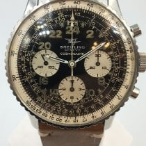 Breitling Navitimer Cosmonaute Acier 41mm Noir Arabes