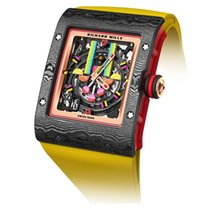 Richard Mille Carbon 52,2mm Automatic RM 16-01 new
