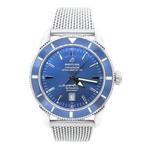 Breitling Superocean Héritage 46 Steel 46mm Blue No numerals United States of America, New York, New York
